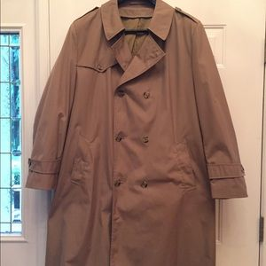 Other - Men's Botany 500 luxury lined trench